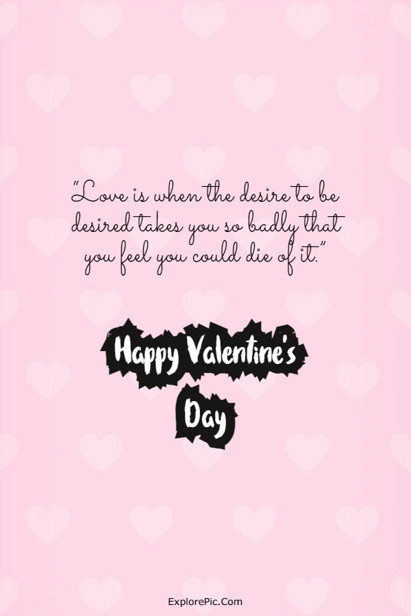 240 Happy Valentine's Day Quotes Messages Valentines Day Greetings Card Wishes 5