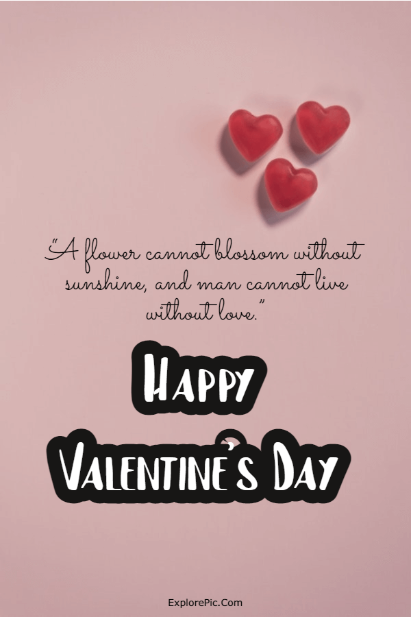 240 Happy Valentine's Day Quotes Messages Valentines Day Greetings Card Wishes 7