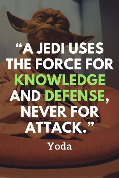 yoda force quotes and jedi master quotes patience my young padawan