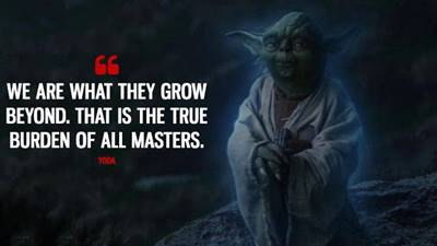 yoda failure quote and yoda fear leads to anger quote what does yoda say