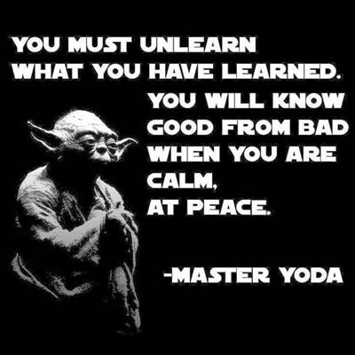 yoda never his mind on where he was patience young skywalker yoda try not quote