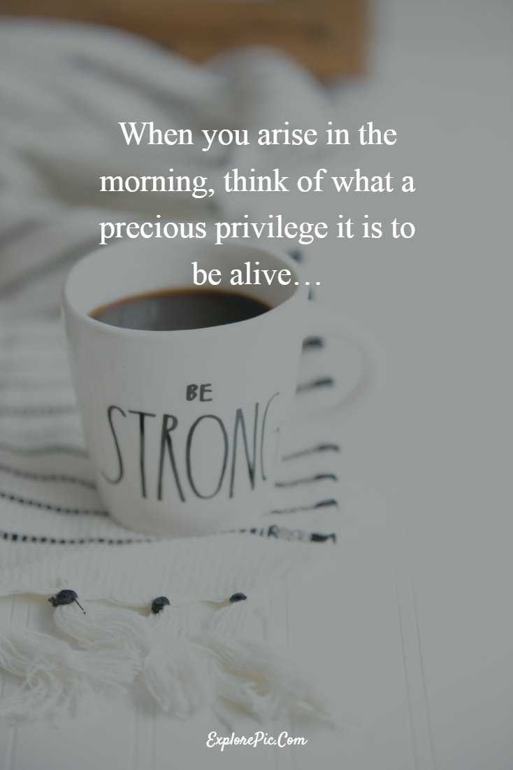 55 Beautiful Good Morning Quotes Sayings About Life 11