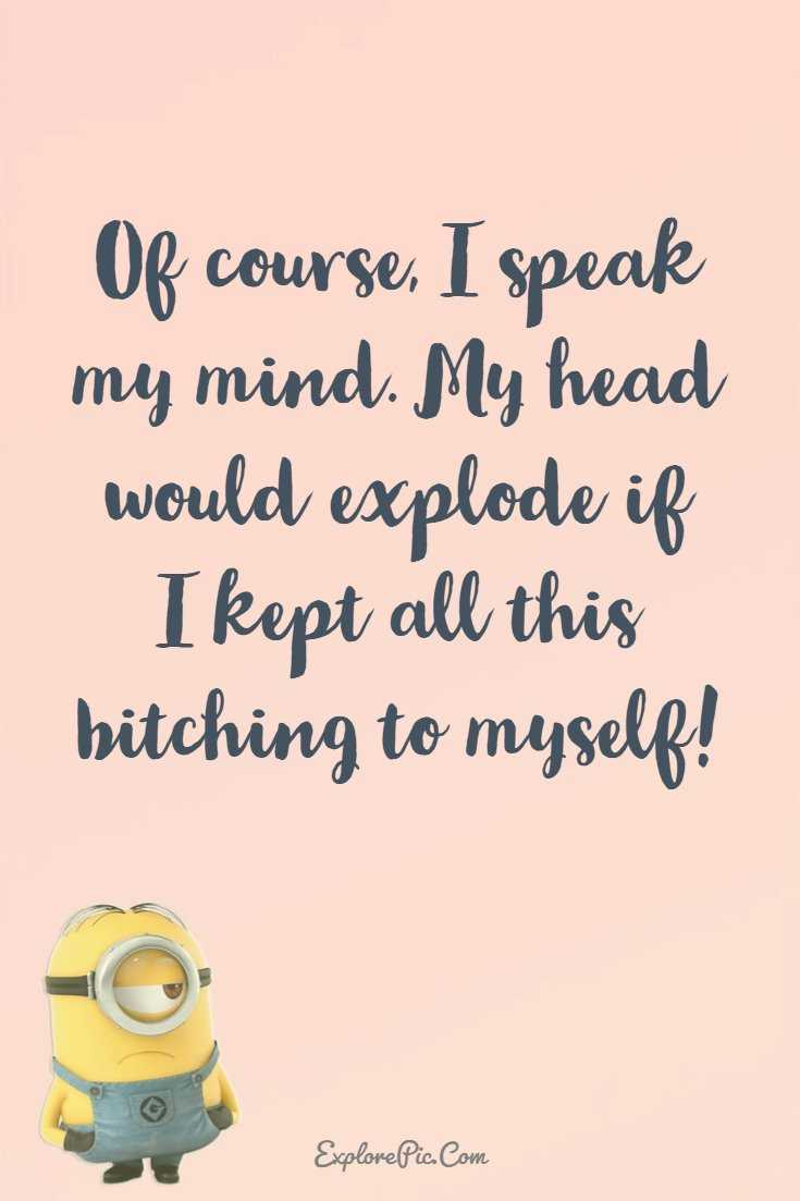 Minions Quotes 37 Funny Quotes Minions And Funny Words To Say 24