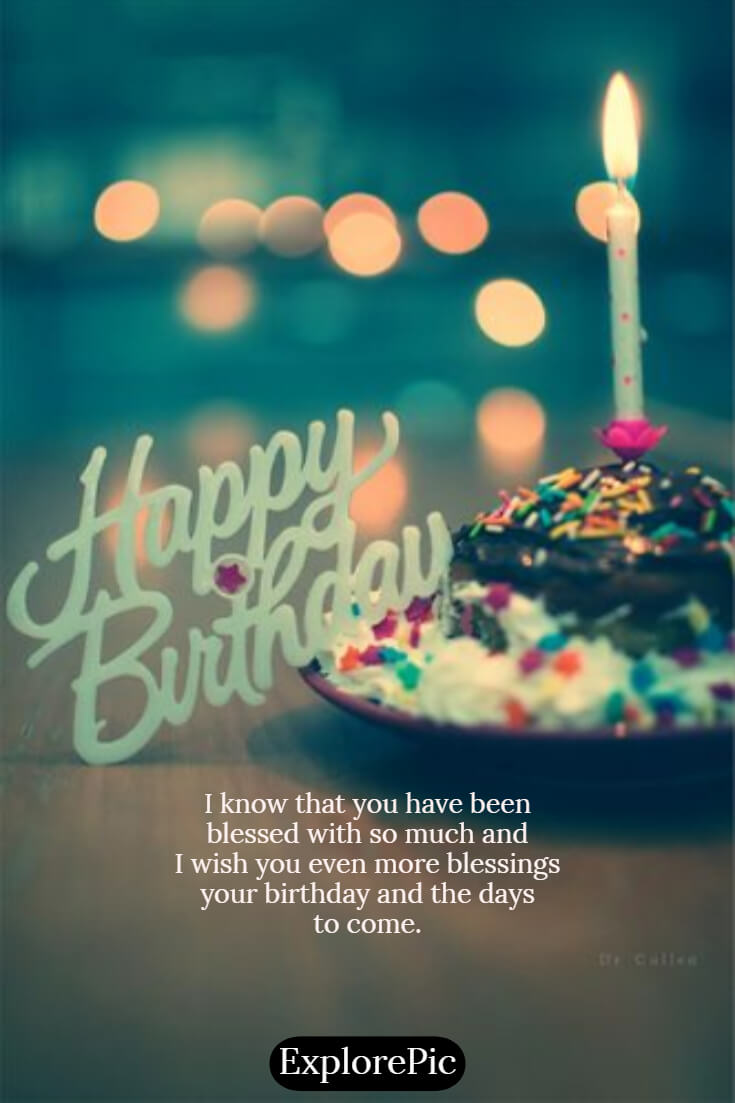 happiest birthday picture of happy birthday 60 Beautiful Images with Quotes Wishes