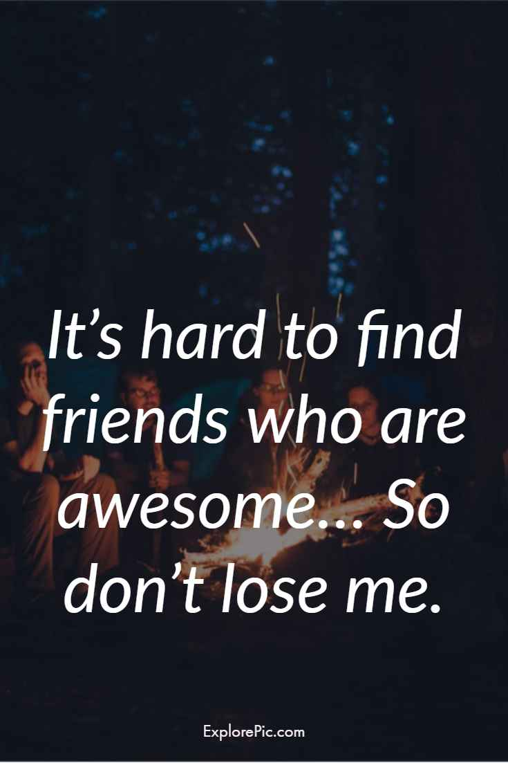 Funny friendship quotes Instagram caption for your best friends