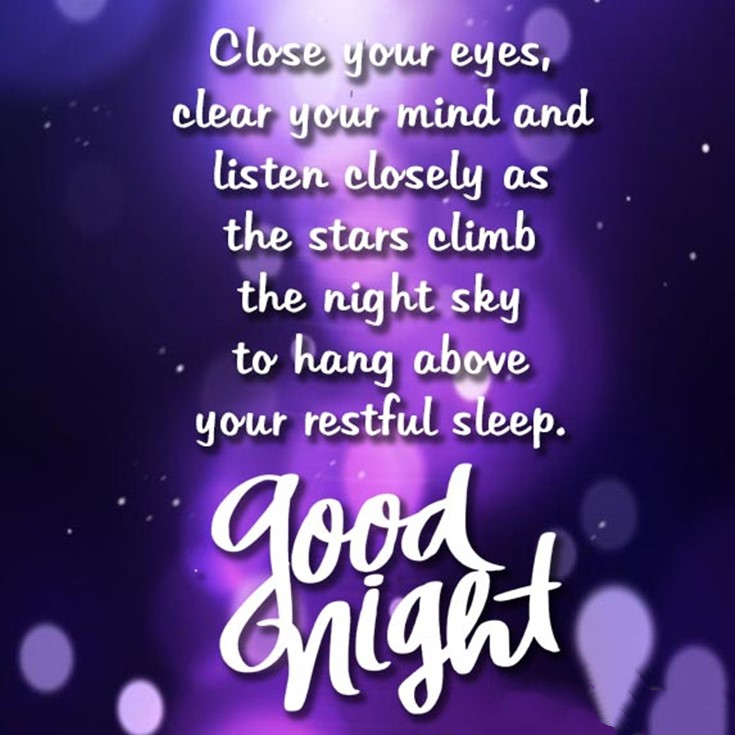 28 Beautiful Good Night Images with Quotes 24