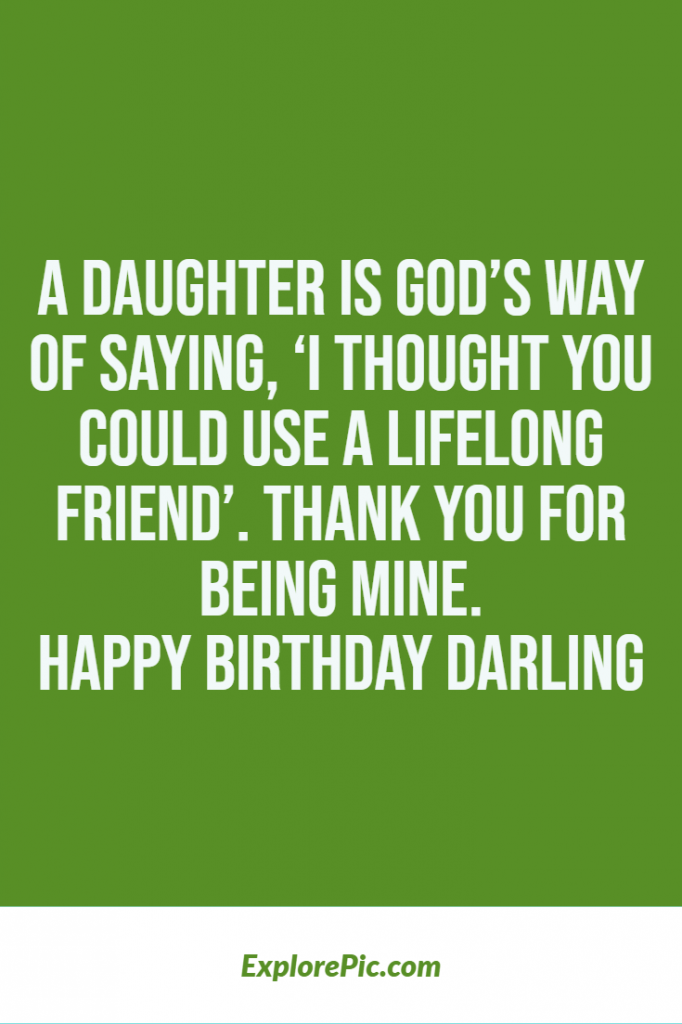 Happy birthday wishes for daughters best quotes 2