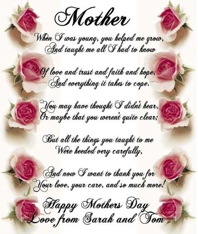 Top 30 Happy Mothers Day Quotes Pictures 28