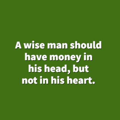 inspirational wealth quotes