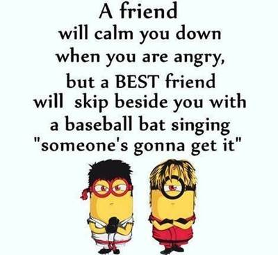 50 Crazy Funny Friendship Quotes for Cute Friends 19