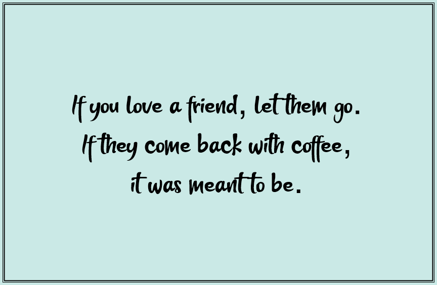 Funny Friendship Quotes about Friends