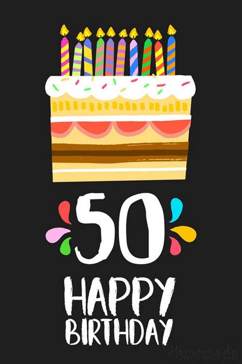 50th Birthday Wishes Messages Quotes happy birthday 50 years and happy 50th birthday wishes