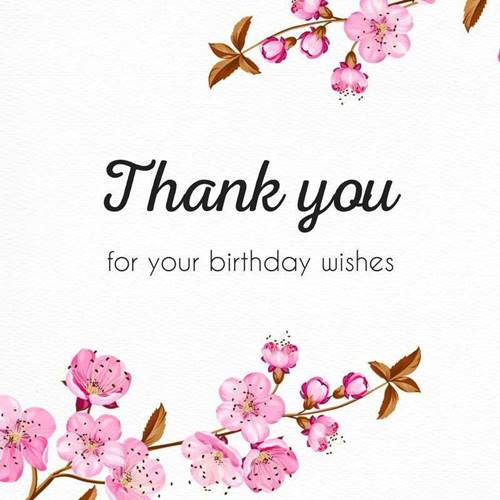 52 Best Thank You For Birthday Wishes images Thank you quotes 10