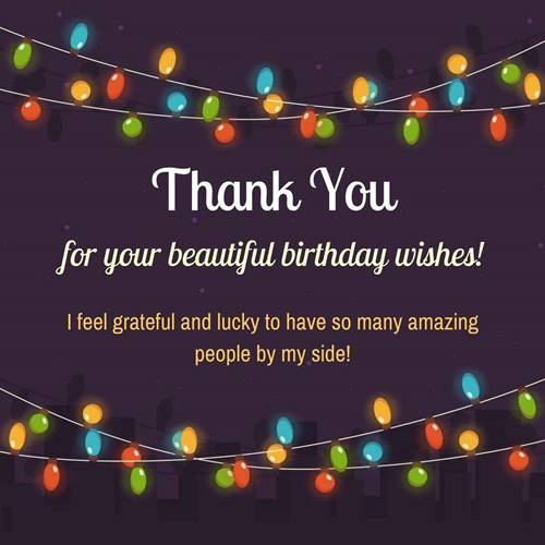 52 Best Thank You For Birthday Wishes images Thank you quotes 25