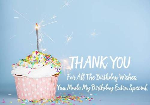 52 Best Thank You For Birthday Wishes images Thank you quotes 32