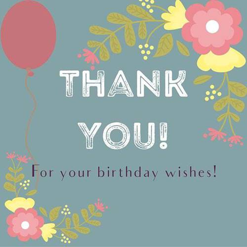 52 Best Thank You For Birthday Wishes images Thank you quotes 33