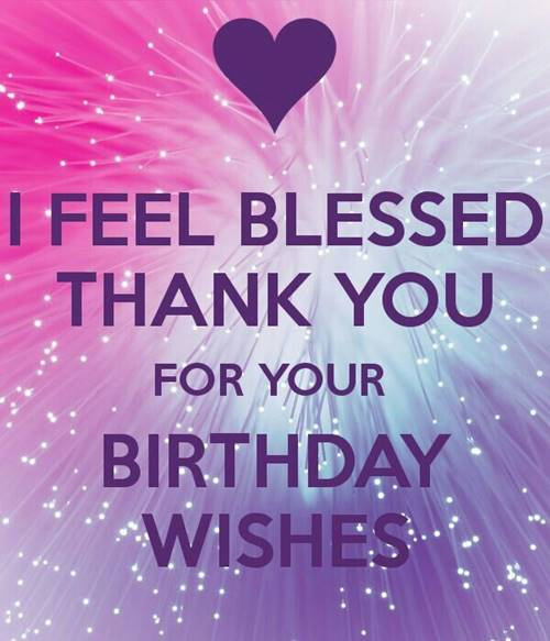 52 Best Thank You For Birthday Wishes images Thank you quotes 5