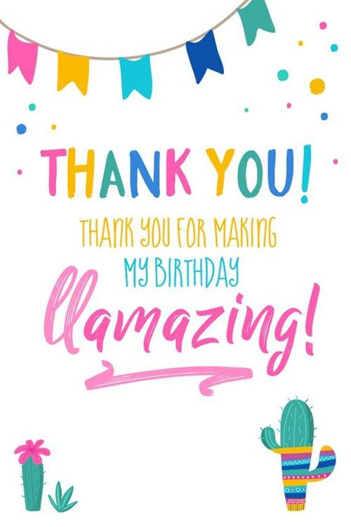 52 Best Thank You For Birthday Wishes images Thank you quotes 6
