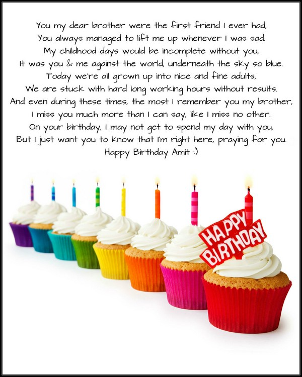 happy birthday poems about friendship