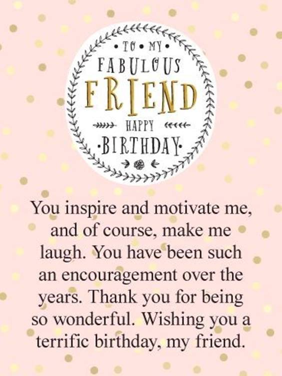 happy birthday wishes for a friend friendship messages 7