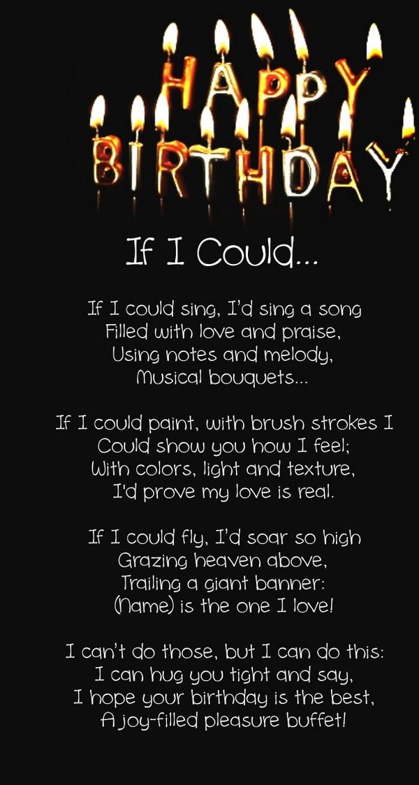 romantic birthday poems happy birthday honey poem