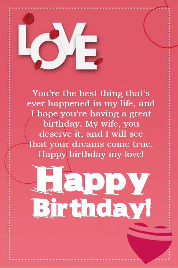 Romantic Happy Birthday Wishes for Lover Love Messages for Lover