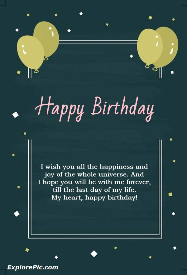 birthday wish messages love birthday quotes