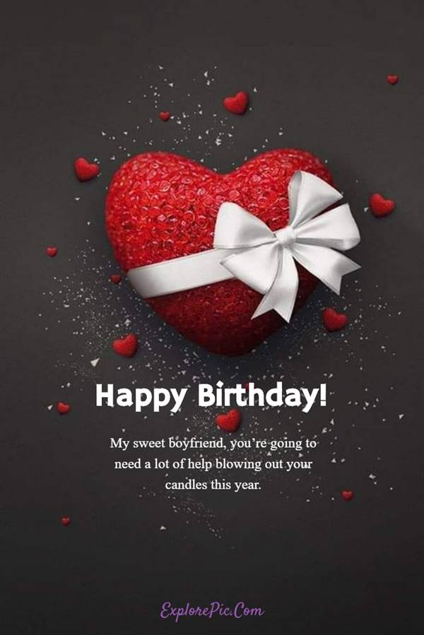 Birthday Message for Boyfriend with images and pictures | Boyfriend birthday quotes, Happy birthday love quotes, Birthday wishes for lover