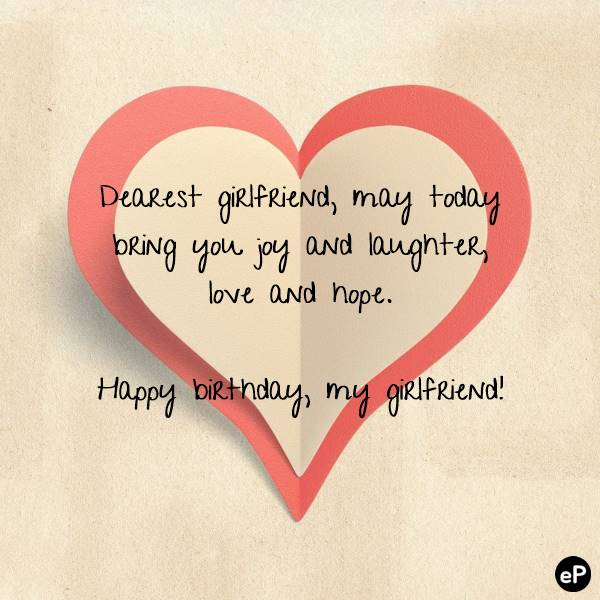 Romantic Birthday Wishes For Girlfriend - Birthday Quotes & SMS | love romantic happy birthday images,