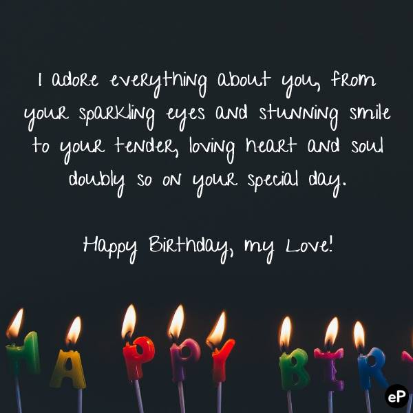 Romantic Birthday Wishes That Will Make Your Sweetie