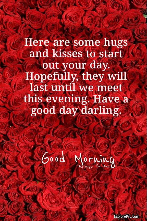 Good Morning Messages For Him - Text Messages, Wishes