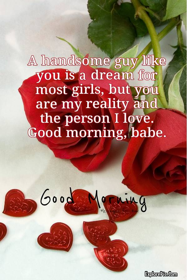 Romantic Good Morning Messages for Him