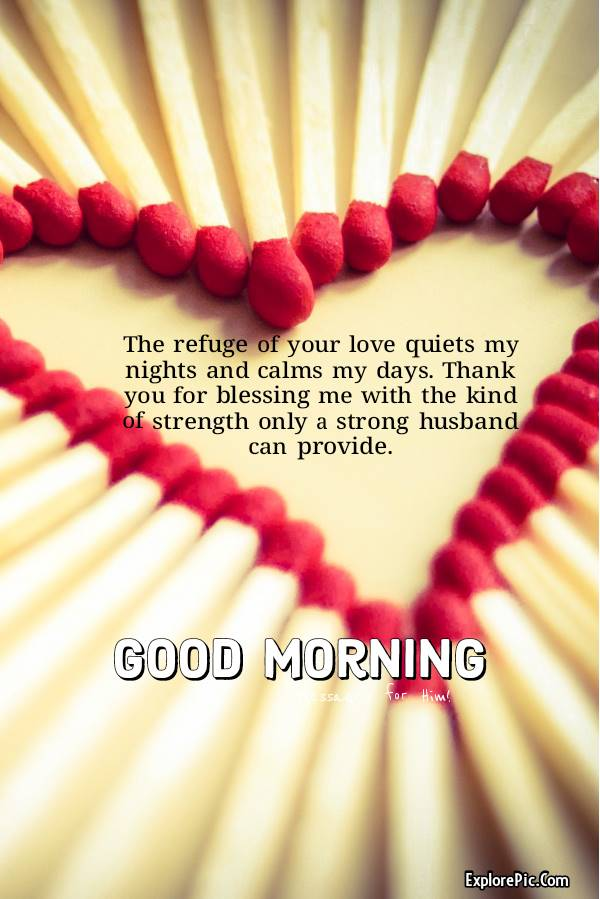 good morning messages for husband long distance