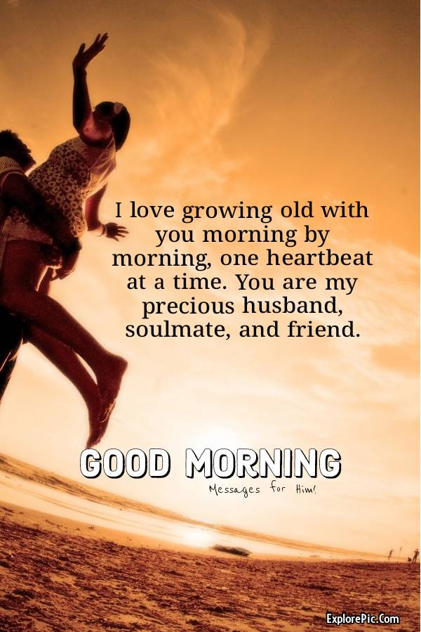 good morning messages for husband with images