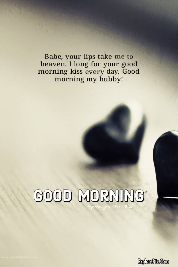 Best Good Morning Messages, Quotes, Wishes for Husband