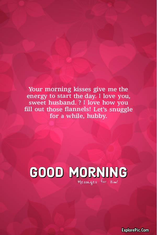 Best Good Morning Quotes for Husband or Him