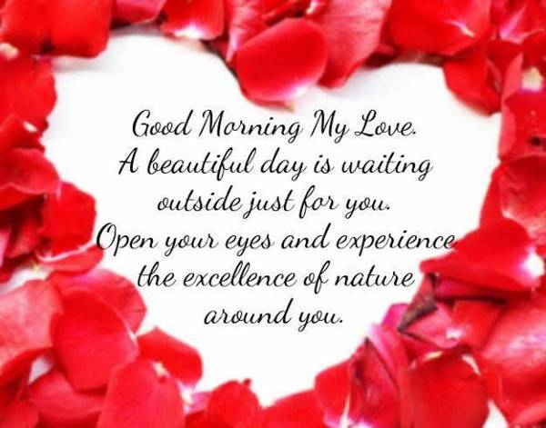 60 Romantic Good Morning Messages for Her | special good morning, good morning my beautiful, sweet morning messages