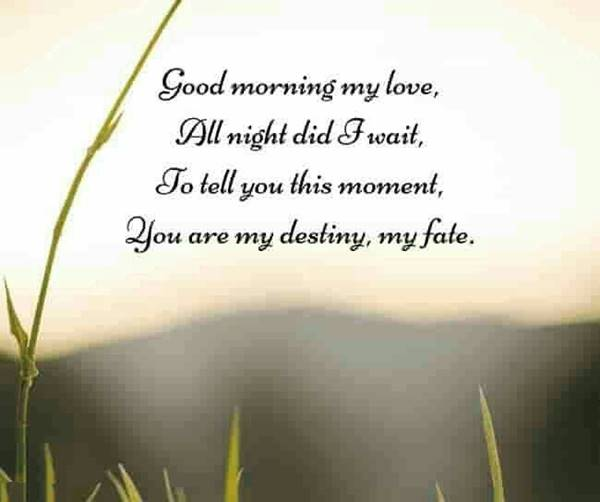 60 Romantic Good Morning Messages for Her | good morning message to make her fall in love, good morning my everything, morning text messages