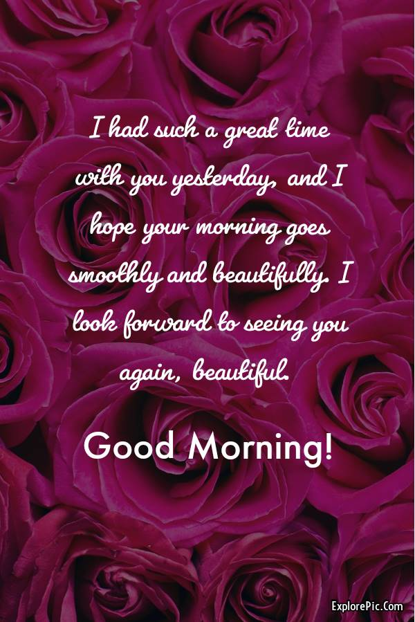60 Romantic Good Morning Messages for Her | good morning darling, good morning love of my life, good morning message for my love