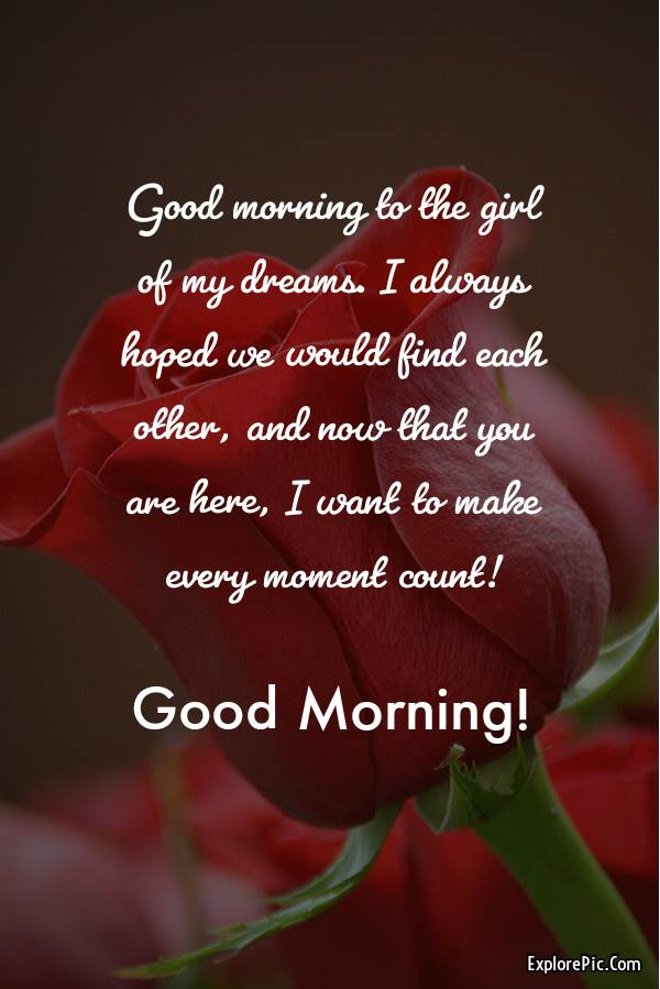 60 Romantic Good Morning Messages for Her | good morning love messages, good morning my beautiful love, good morning my dear