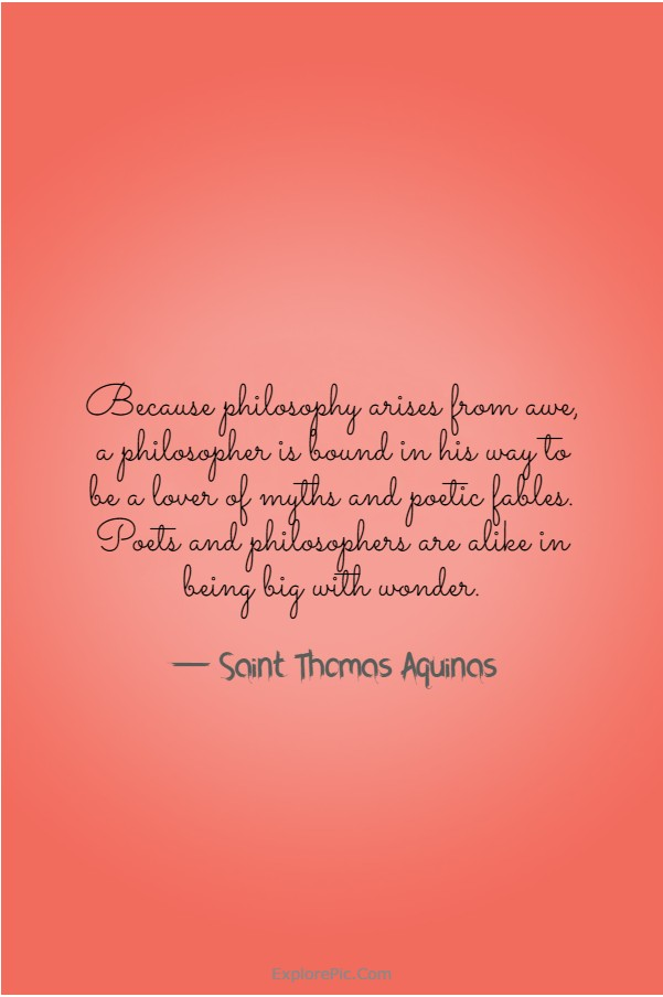 110 Saint Thomas Aquinas Quotes and Sayings | Thomas aquinas quotes, Saint quotes catholic,  Catholic quotes