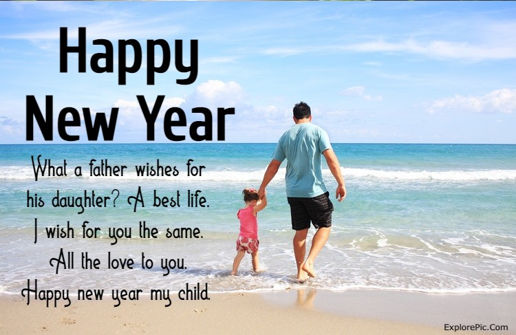 140 Happy New Year Wishes For Daughter New Year 2022 Messages and Quotes for Daughters | happy new year messages for daughter, happy new year affirmations for daughter, happy new year quotes for daughter