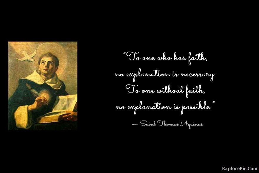 Saint Thomas Aquinas Quotes and Sayings