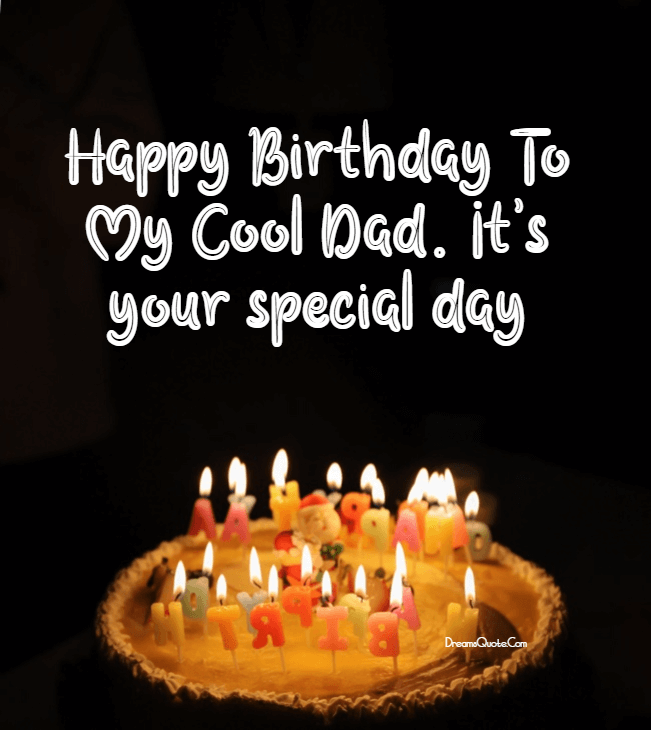 sweet birthday wishes for your father