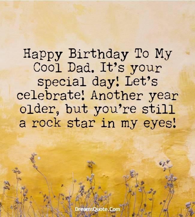 wonderful happy birthday dad quotes & wishes