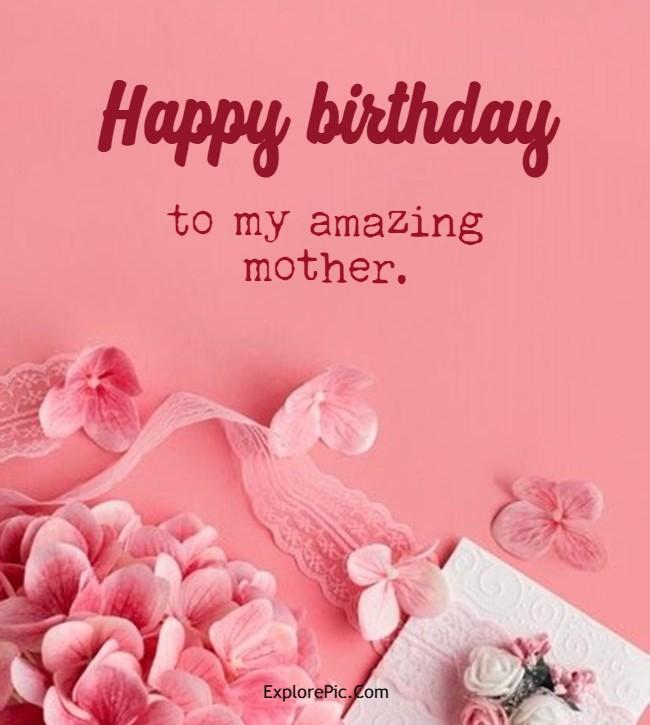 mom birthday card message