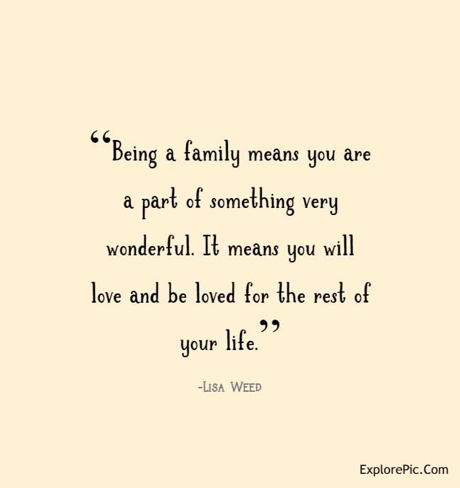 quotes for family love