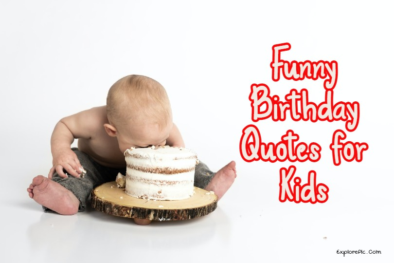 fUNNY Birthday Wishes For Kids