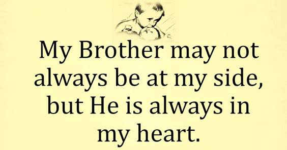 For My Brother Quotes