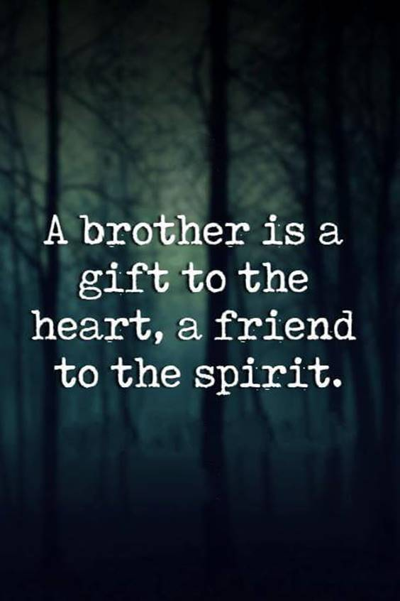 Brothers Quote